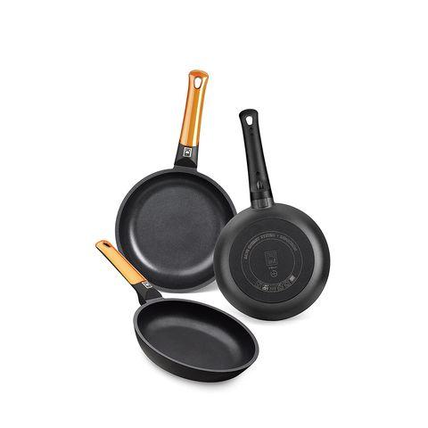 set of 3 bra aluminum pans