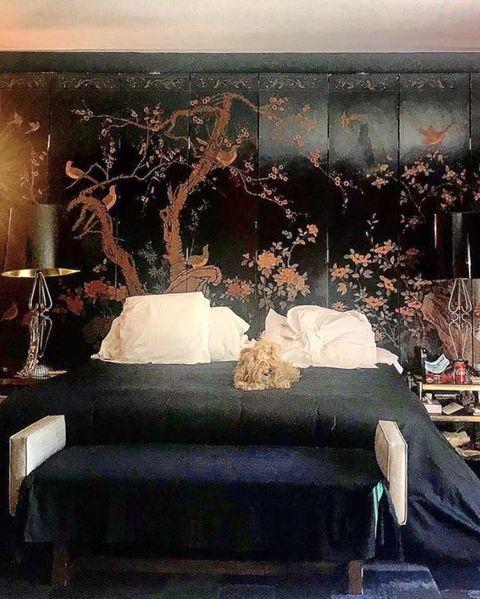 bedroom of bibiana fernández's house