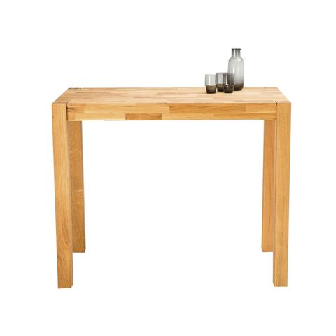 High bar table in solid oak, adelita design, from la redoute interieurs