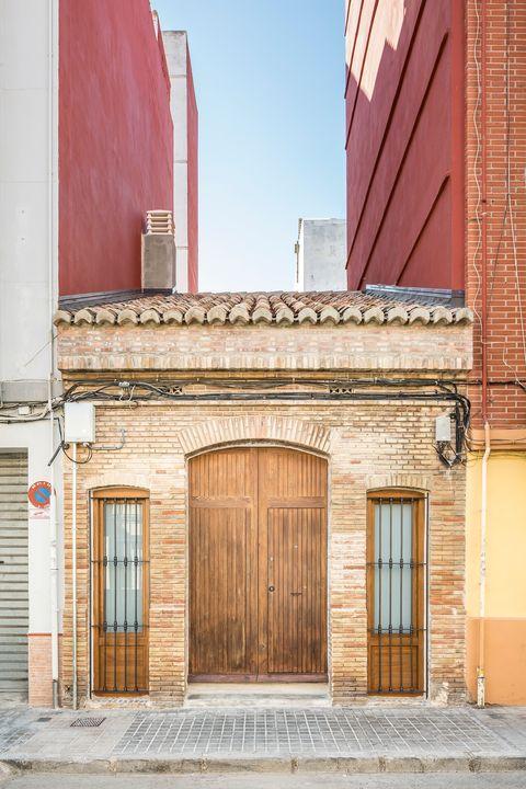 traditional style facade