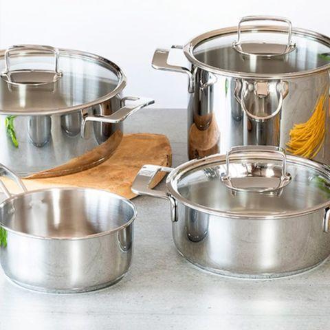 steel pot set