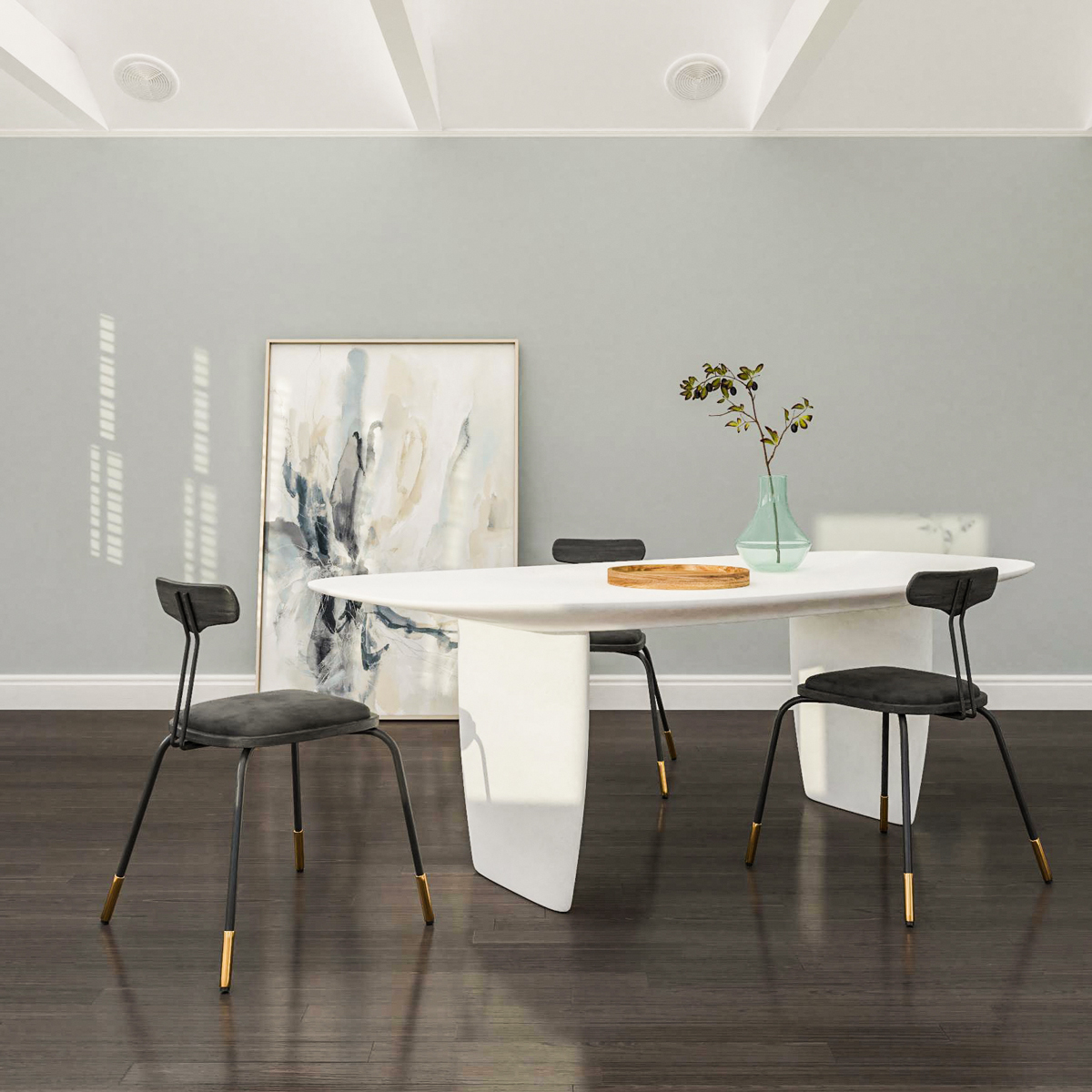 modern-table-in-white-polished-concrete