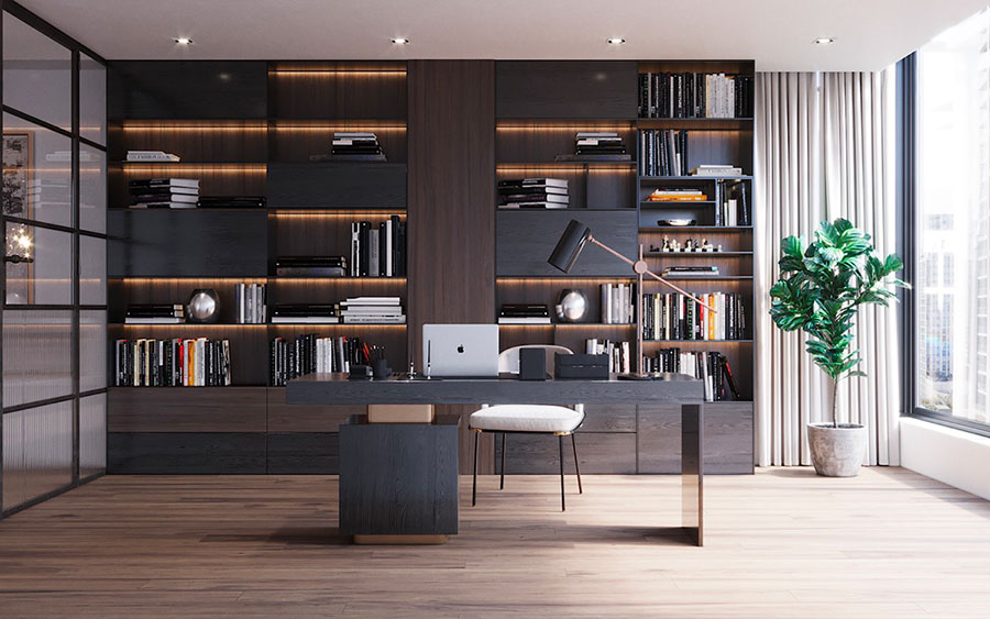 How to furnish a luxury office n.06