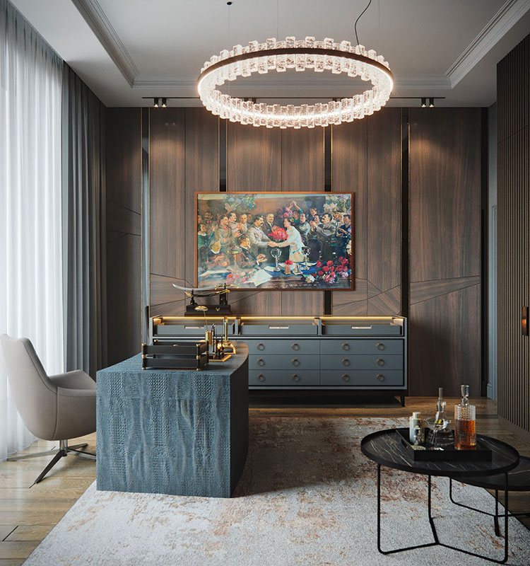 How to furnish a luxury office n.03