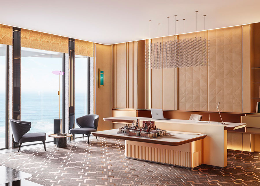 How to furnish a luxury office n.04