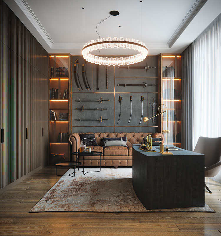 How to furnish a luxury office n.02