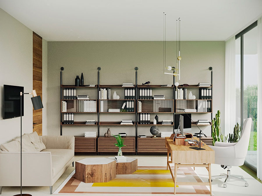 How to furnish a luxury office n.08