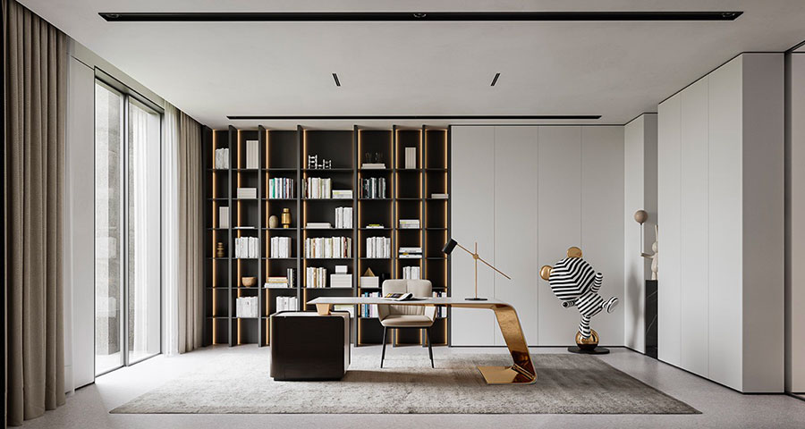 How to furnish a luxury office n.09