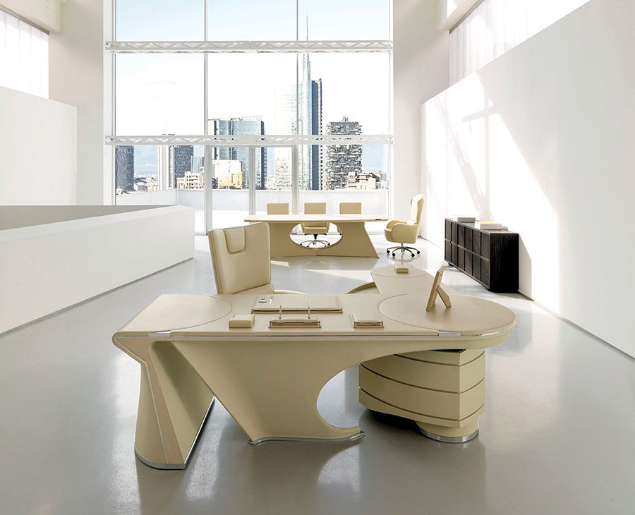 Furniture elements for a luxury office n.02