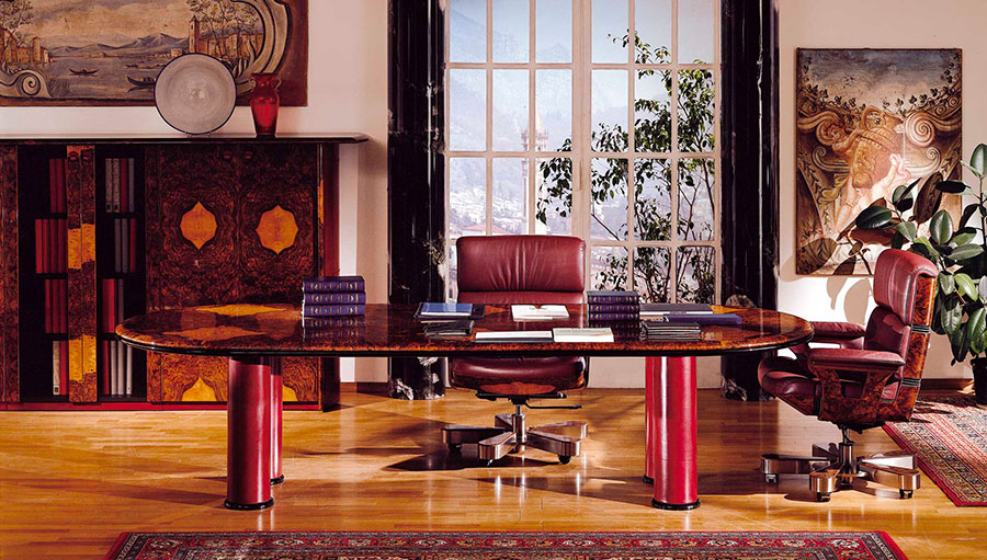 Furniture elements for a luxury office n.06