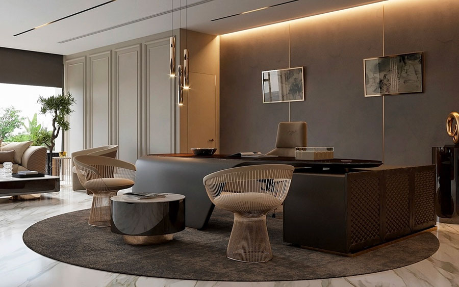 How to furnish a luxury office n.12