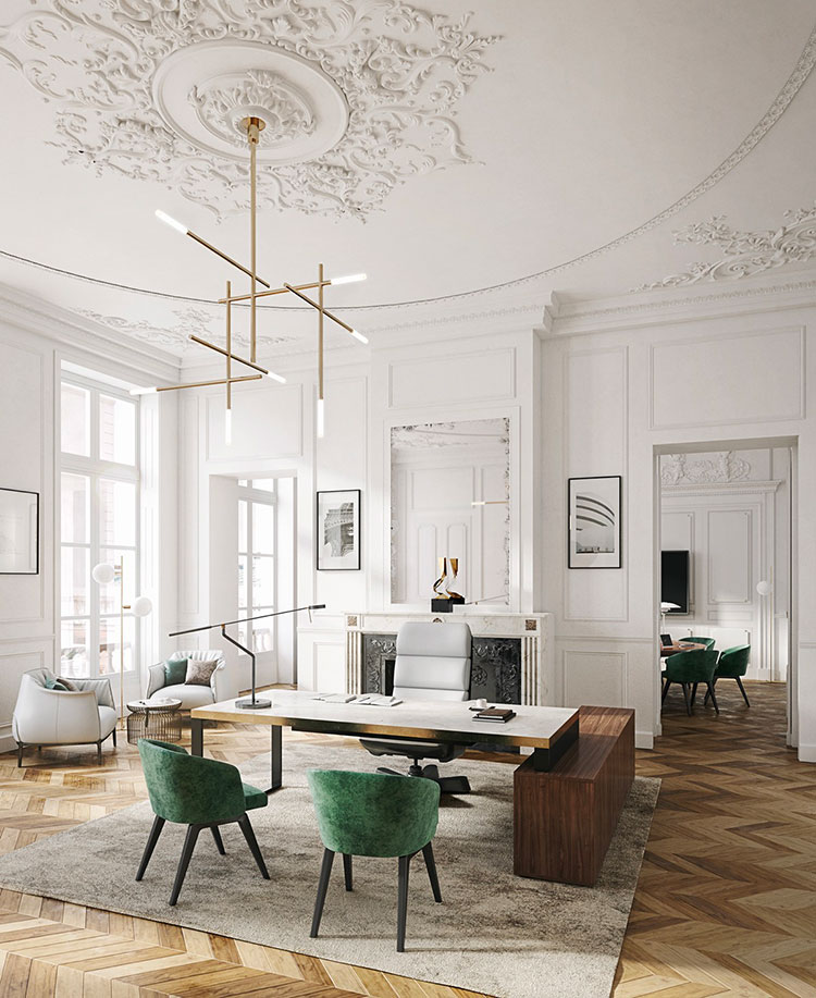 How to furnish a luxury office # 22