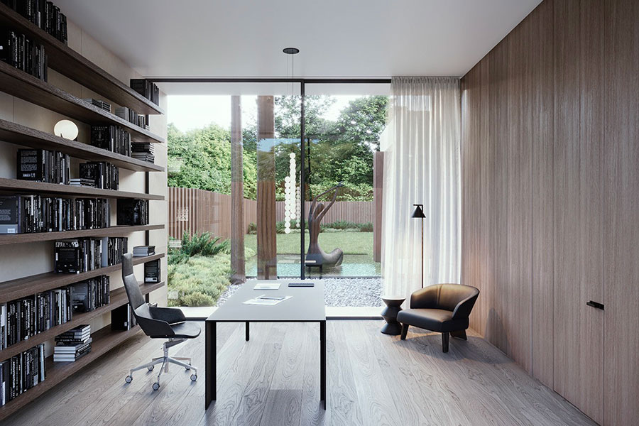 How to furnish a luxury office n.16