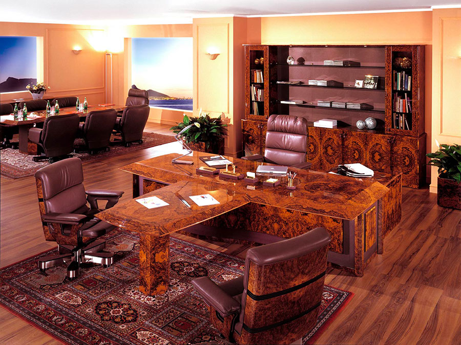 Furniture elements for a luxury office n.05