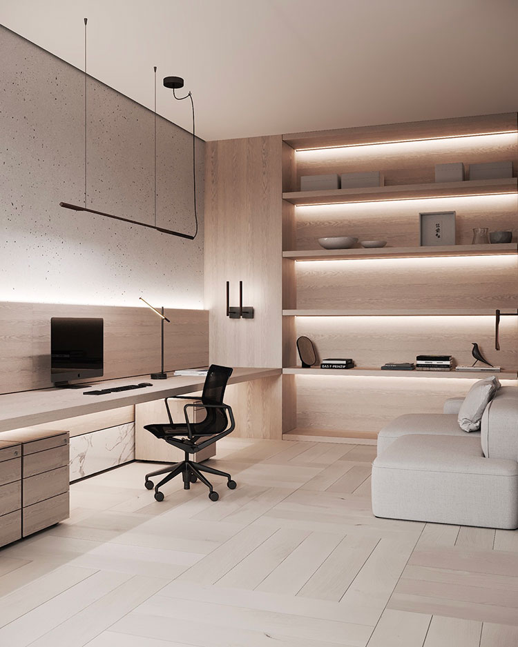 How to furnish a luxury office # 28