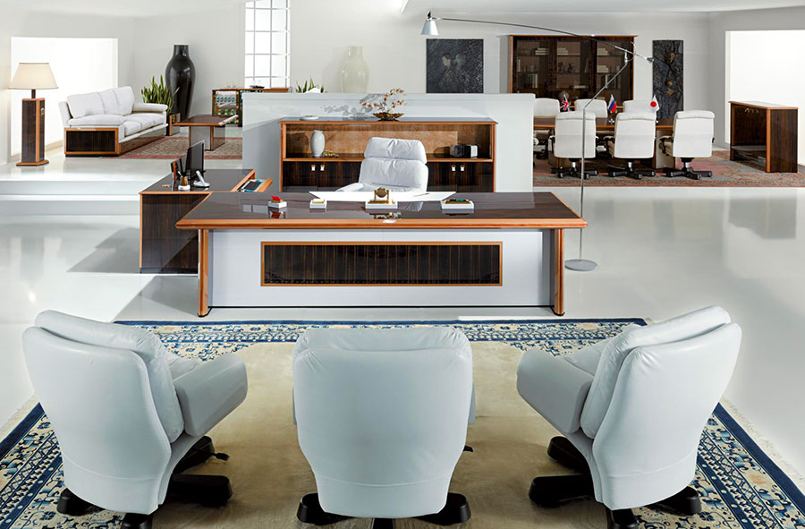 Furniture elements for a luxury office n.09