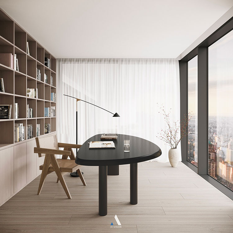 How to furnish a luxury office n.26