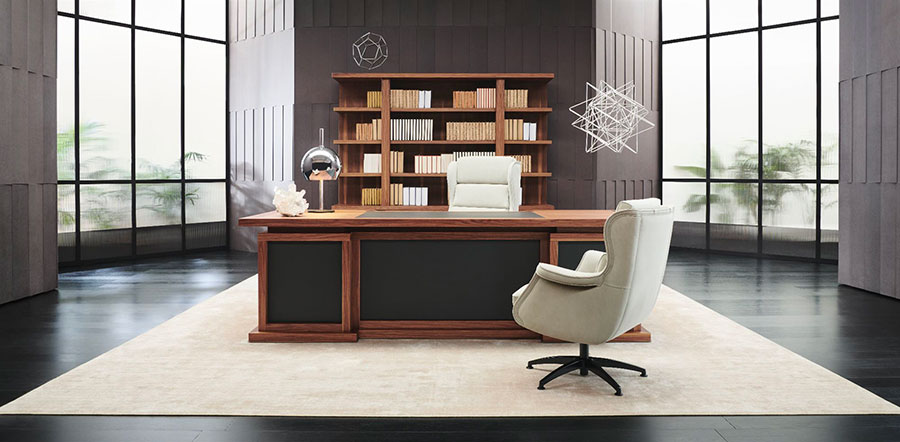 Furniture elements for a luxury office n.01
