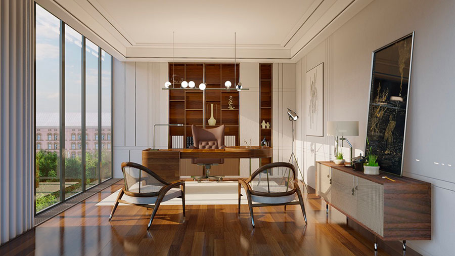 How to furnish a luxury office n.27