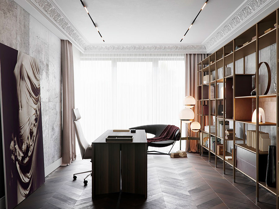 How to furnish a luxury office n.11