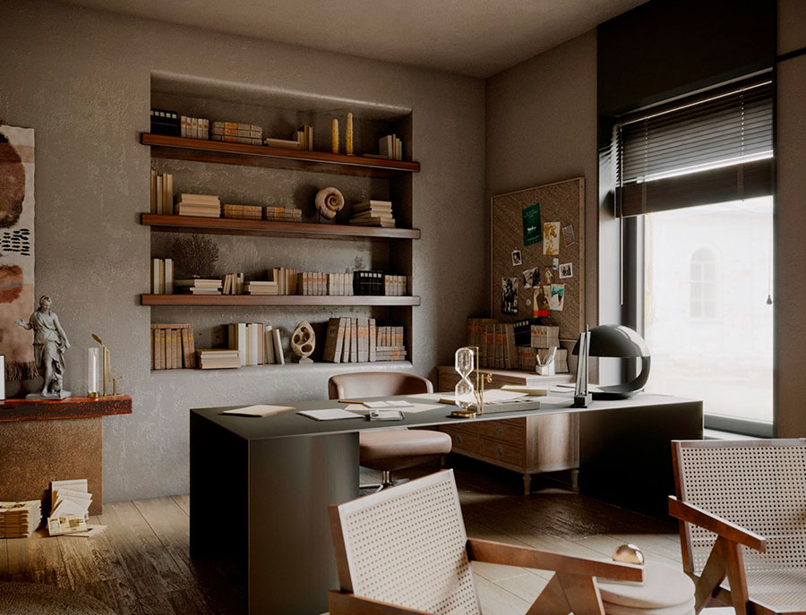 How to furnish a luxury office n.20