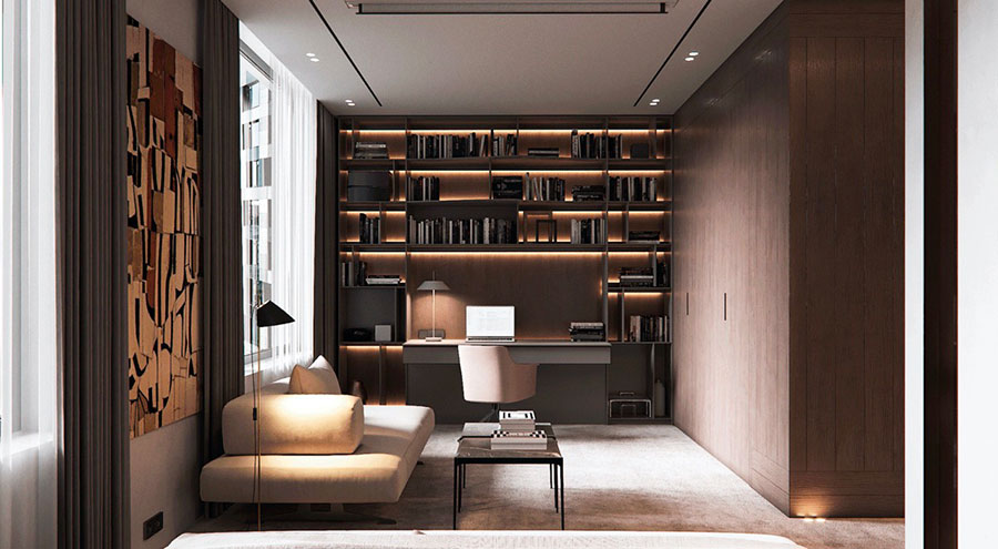 How to furnish a luxury office n.19
