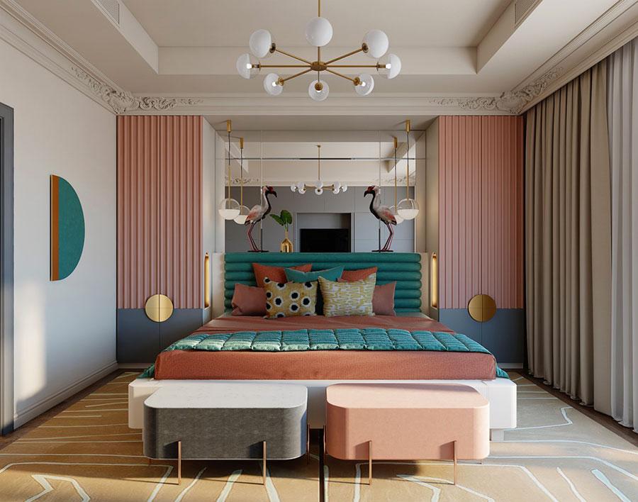 Pink Bedroom Decorating Ideas # 06