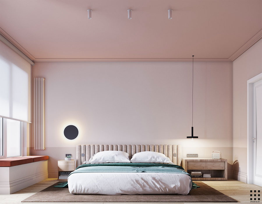 Ideas for decorating a pink bedroom # 13