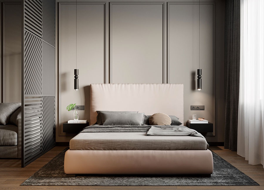 Ideas for decorating a pink bedroom # 20