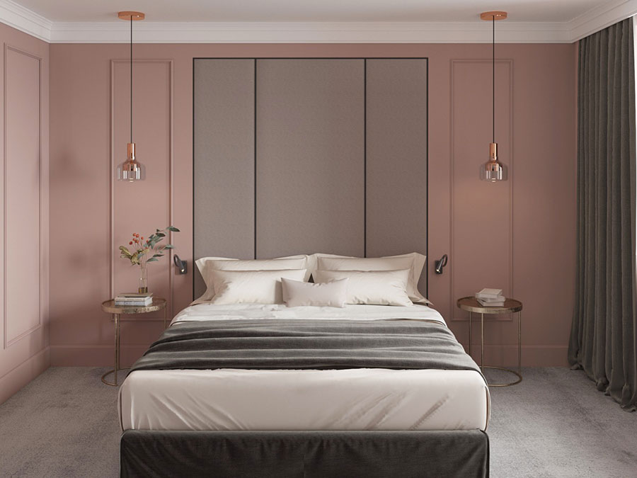 Ideas for decorating a pink bedroom n.05