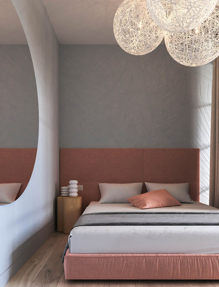 Ideas for decorating a pink bedroom # 27