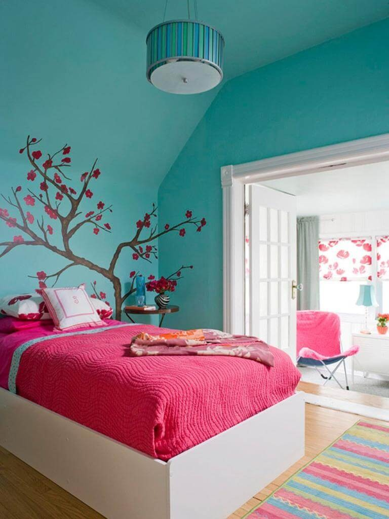 bedroom-teal-color-9