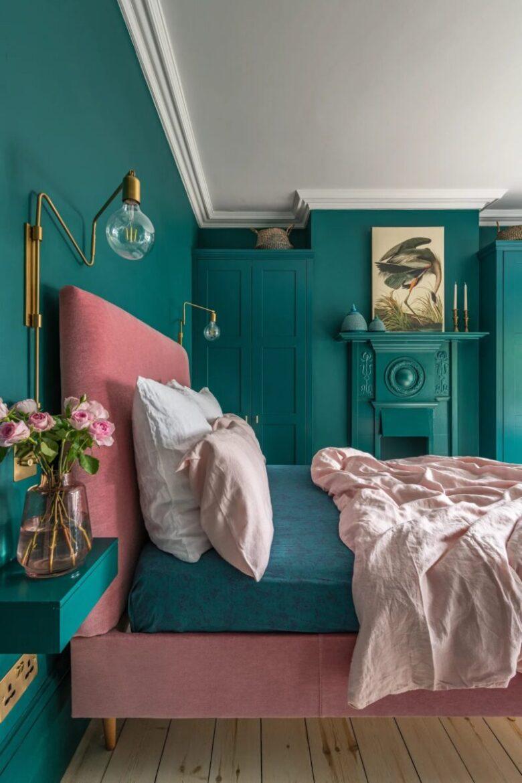 bedroom-teal-color-11