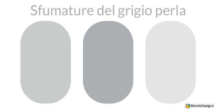 Pearl gray color