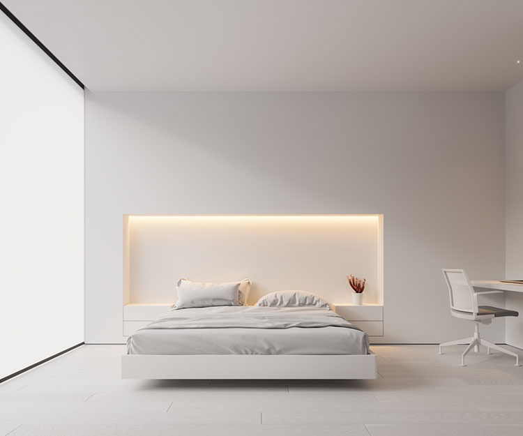 Pearl gray furniture for the bedroom n.02