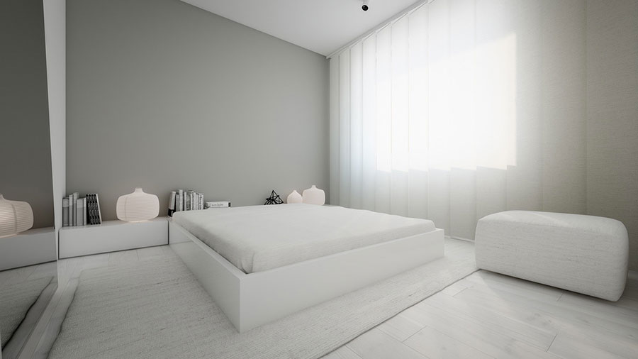 Ideas for decorating a gray bedroom # 16