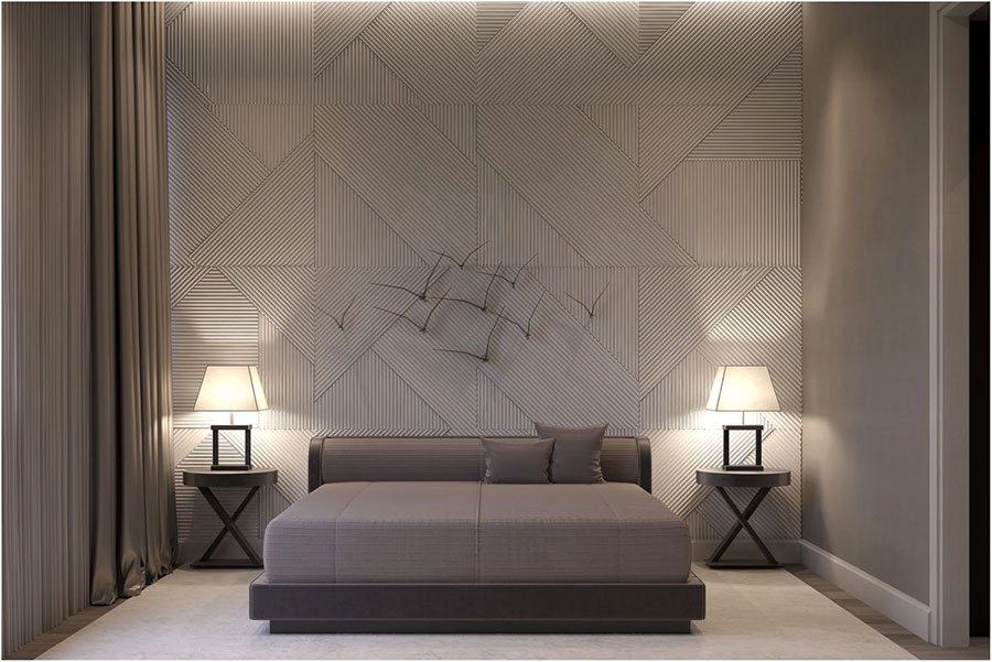 Pearl gray furniture for bedroom n.03