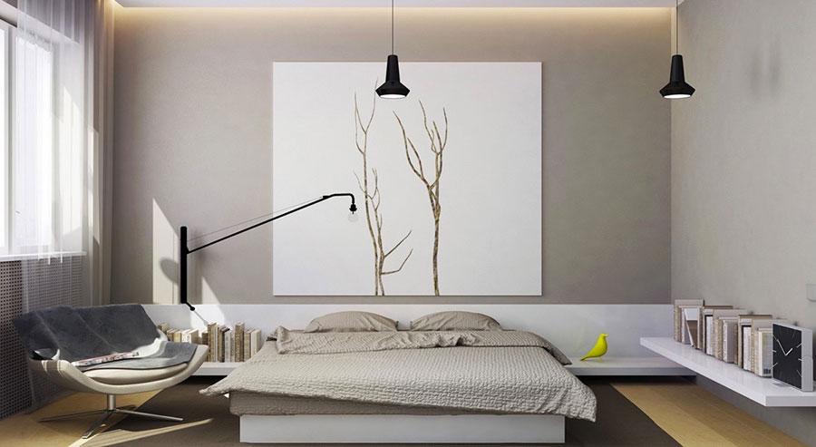 Gray and White Bedroom Decor Ideas # 02