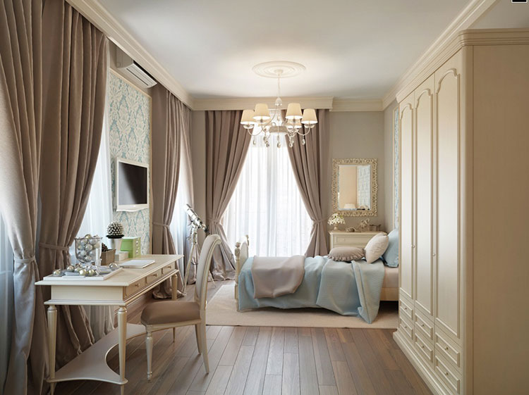 Taupe Bedroom Decor Ideas # 02
