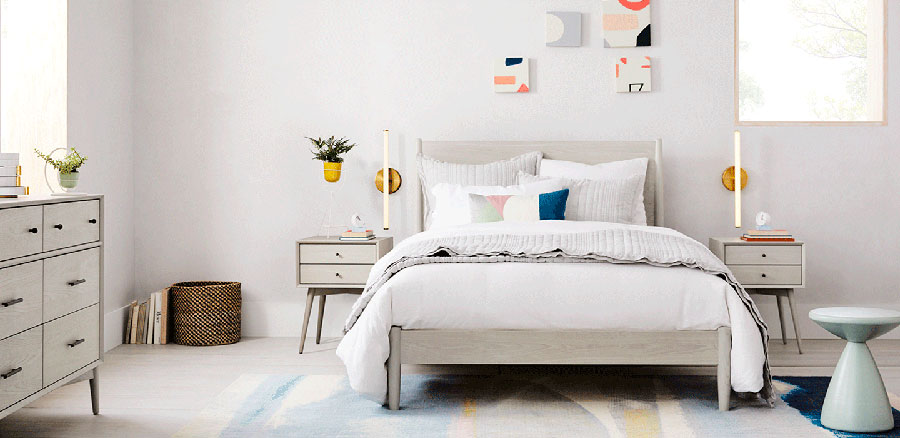 Pearl gray furniture for bedroom # 20