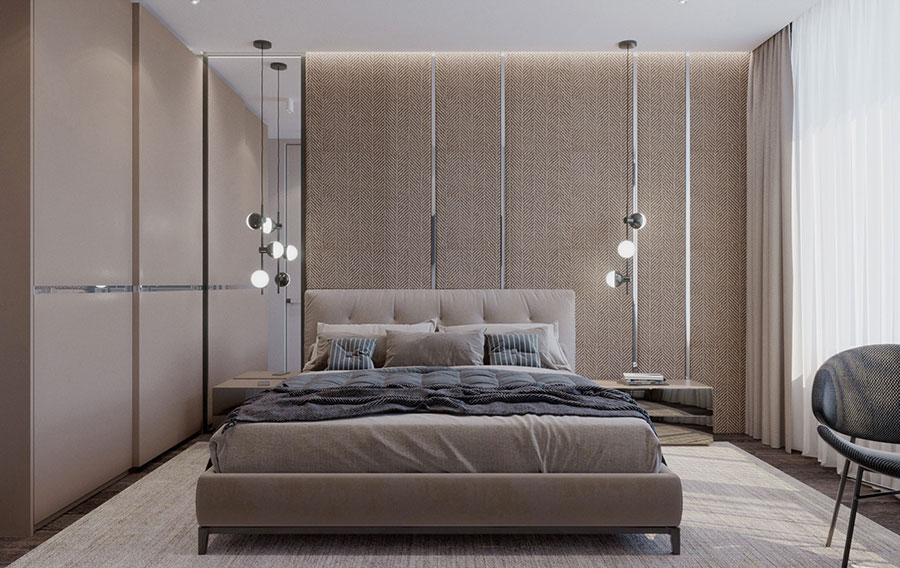 Taupe Gray Bedroom Decor Ideas # 03
