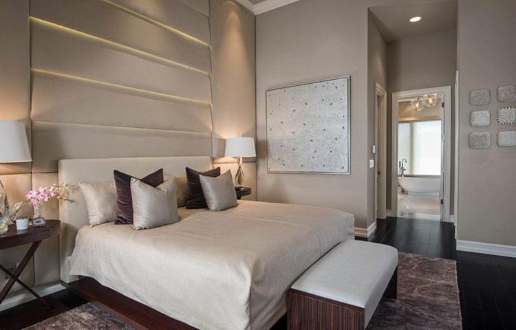 Taupe Bedroom Decor Ideas # 01