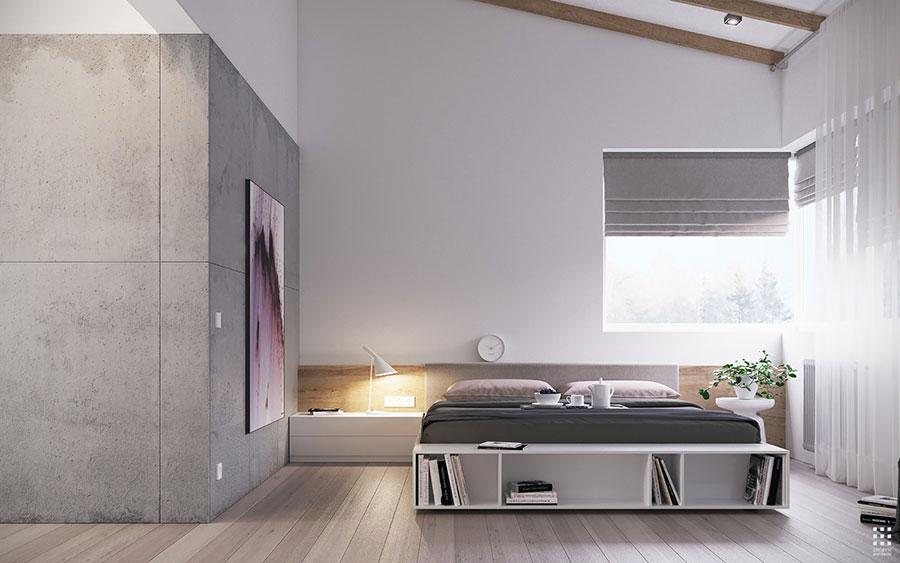 Gray and white bedroom decor ideas # 05