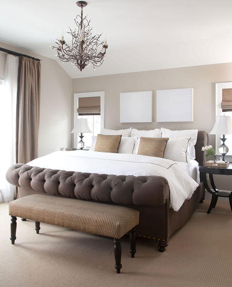 Taupe Bedroom Decor Ideas # 03