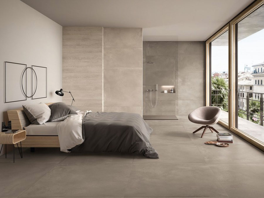 Taupe gray bedroom decor ideas # 04