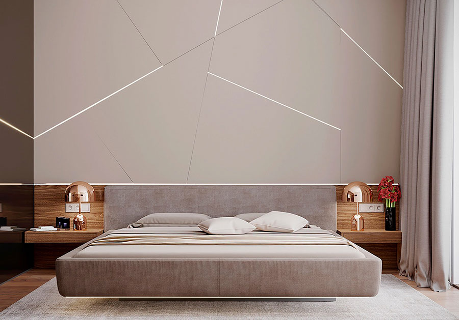 Pearl gray furniture for bedroom # 12