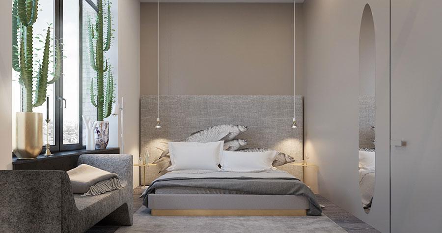 Taupe gray bedroom decor ideas # 02