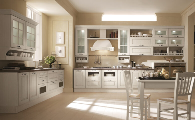 best-colors-classic-beige-kitchen
