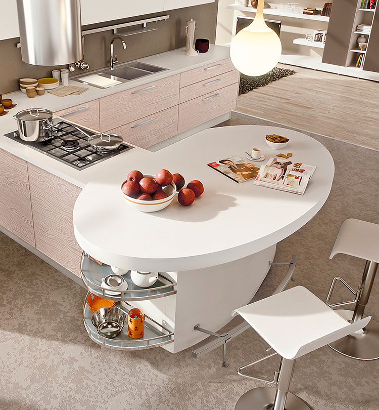 Kitchen model with snack corner n.02