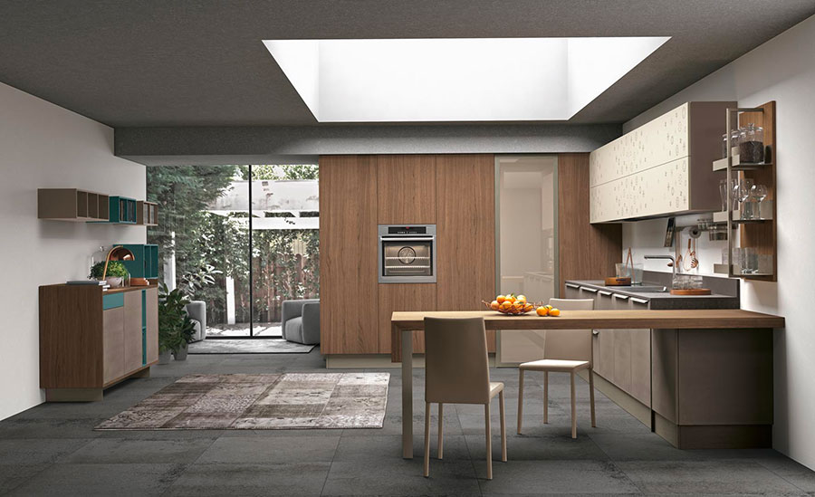 Kitchen template with snack table # 04